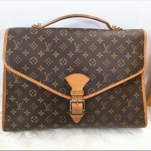 100% Authen Louis Vuitton Beverly GM  Briefcase